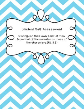 Student Self Assessment for RL.3.6