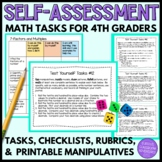 Student Self-Assessments for 4th Grade Math (Mathematical Mindsets)