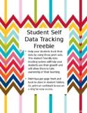Student Self Data Tracking