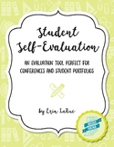 Student Self Evaluation for Parent Teacher Conferences