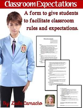 Classroom Management: Student Self-Evaluation