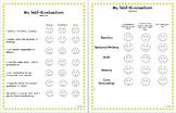 Student Self Evaluation (2nd Grade)