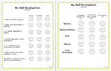 Student Self Evaluation (Kindergarten)