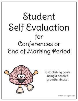 Student Self Evaluation