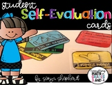 Student Self-Evaluation Cards