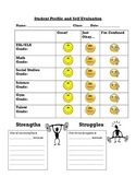 Student Self Evaluation - ELL Friendly