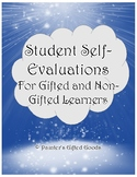 Student Self-Evaluation - For Gifted and Non-Gifted Learners
