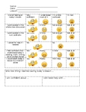 Student Self Evaluation Form