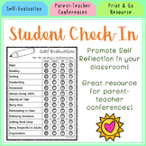 Student Self-Evaluation Form