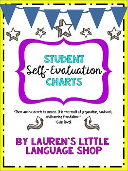 Student Self-Evaluation Forms