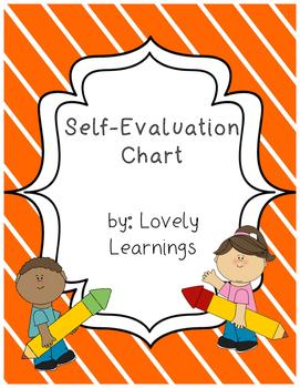 Student Self-Evaluation Sheet