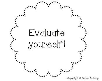 Student Self Evaluation Tool