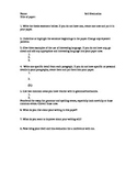 Student Self-Evaluation for Essay Reflection and Revision