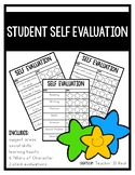 Student Self Evaluations