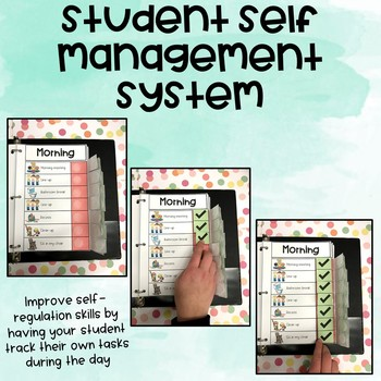 Student Self Management System (tool for sped students)