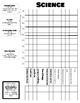 Student Self-Monitoring Data Sheet - Science