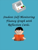 Student Self-Monitoring Fluency Graph with Reflection Cards.