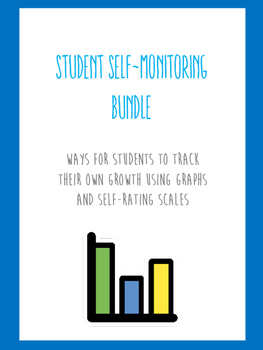Student Self-Monitoring Progress Bundle for Goals (Speech,