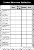 Student Self Monitoring Reflection Sheets, Parent Teacher Conference Interviews