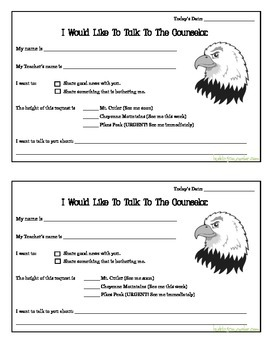 Student Self Referral Form