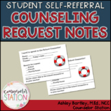 Student Self-Referral Counseling Request Forms - NEW!