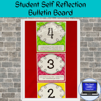 Student Self Reflection Bulletin Board