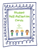 Student Self Reflection Cards