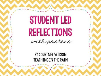 Student Self Reflection Flip Books