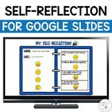 Student Self Reflection Form | Digital Self Reflection Form for Conferences
