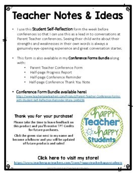 Student Self Reflection Student Self Evaluation By