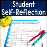 Student Self Reflection Assessment: Student Self Evaluation Form for Conferences