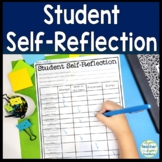 Student Self Reflection Assessment: Student Self Evaluatio