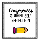Student Self Reflection for Conferences