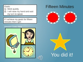 Student Self-Regulation Reward Timer