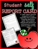 Student Self Report Card & Goal Setting