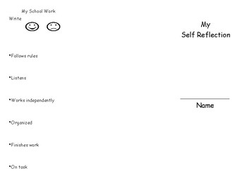 Student Self Report Card