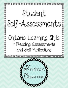 Student Self-assessments (Learning skills, reading, and two stars and a wish)