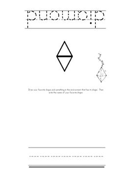 Student Shape Book