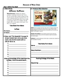 Student Sheets/Close Reading Unit 1 Week 1 Main Selection Because of Winn Dixie