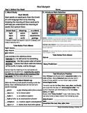 Student Sheets/Close Reading Unit 3 Wk 5 Main Selection Pa