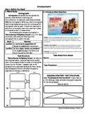 Student Sheets/Close Reading Unit 5 Wk 1 Main Selection Sm