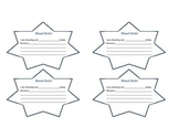 Student Shout Out Stars
