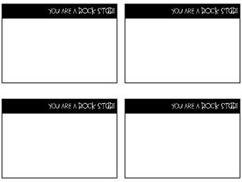 Student Shoutout Notes of Encouragement