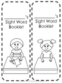 Student Sight Word Booklet {Fry's first 100 words}