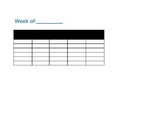 Student Sign-In Log