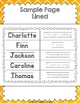 Student Sign-In Sheets {Editable}