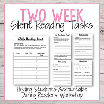Student Silent Reading Log