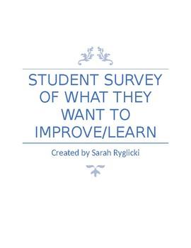 Student Skills Survey