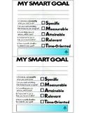 Student Smart Goal Card