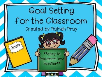 Student Smart Goal Setting WITH Action Steps for Multiple Areas